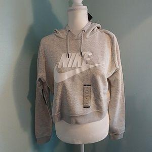 NWT Nike crop sweatshirt